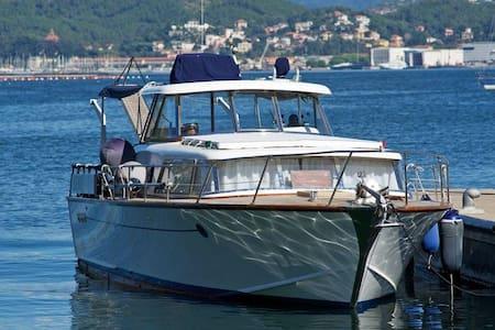 Barca d'epoca in legno - Ameglia