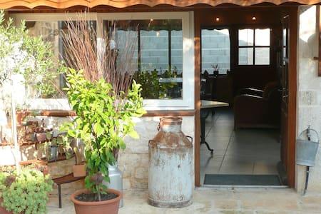 gîte, chambres d'hôtes lieu paisible près de Niort - Échiré - Haus
