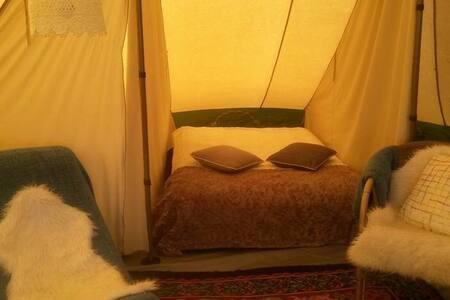 De Waard tent op camping Stortemelk - Vlieland - Tent