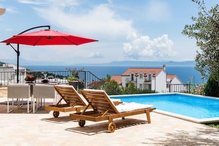 modern sunny house with pool - Vallo della Brazza - Villa