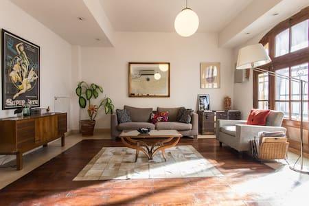 Linda habitación - balcón a la calle, baño privado - Buenos Aires - Bed & Breakfast