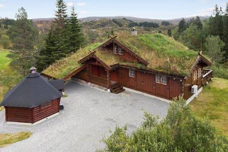 Nydelig hytte på Kvamskogen - Nordheimsund