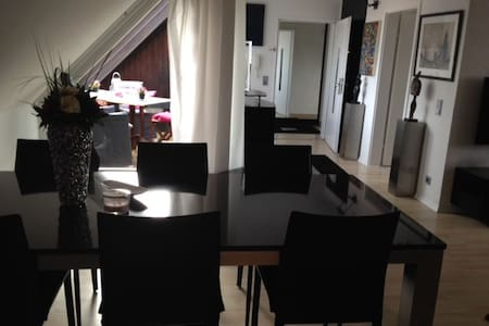 Moderne 2,5 DG-Zi-Wohnung im Herzen von Ulm - Ulm - Apartamento