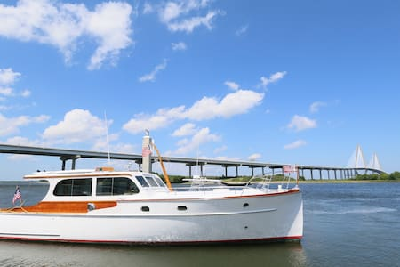 Downtown Vintage Yacht with Charter! - Charleston - Boot