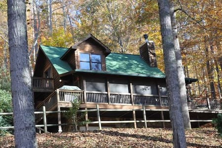 Whispering Woods Cabin - Bryson City - Ξυλόσπιτο