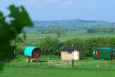 Gypsy Caravan near Glastonbury - Hus