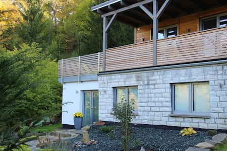Kleines Luxus-Waldhäuschen mit Sauna - Effelder - Casa