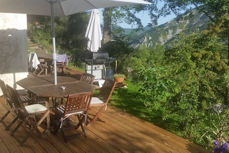 Beautiful Apartment with Great Outdoor - Gréolières - Daire