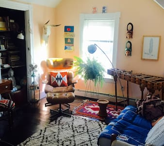 Private Room in the heart of Olneyville! - Providence - Apartment