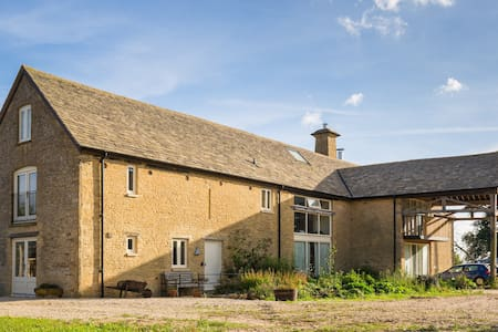Our stone barn farmhouse guest wing - Chadlington - House