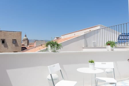 New!!Loft with Magic 2 terraces in city center - Loft
