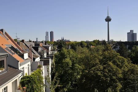 Spacious apartment with great view - Cologne