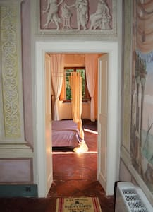 Family Suite in Villa, centre of Bagni di Lucca - Guesthouse
