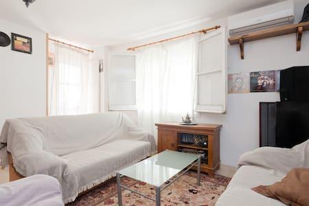 Habitación amplia y tranquila en el Alto Albaycin. - Grenada - Lyxvåning