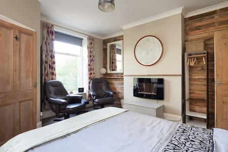 The Cabin-Hebden Bridge-Studio Flat - Huoneisto