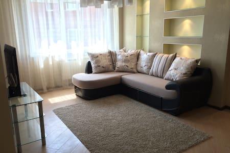 Уютная 3-комн. квартира в Иркутске - Иркутск - Apartment