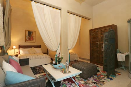 room 4 pax in the center - Marrakesh - Bed & Breakfast