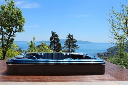 Sea view studio at Villa Oscar - Veprinac - House