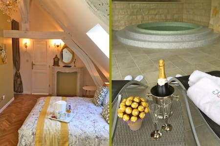 Maison Elincourt & SPA: Room Sarah - Bed & Breakfast