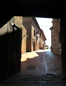 Medieval village next to Siena - Sovicille - Apartment