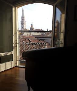 Vista stupenda sui tetti di Modena - Modena - Appartamento