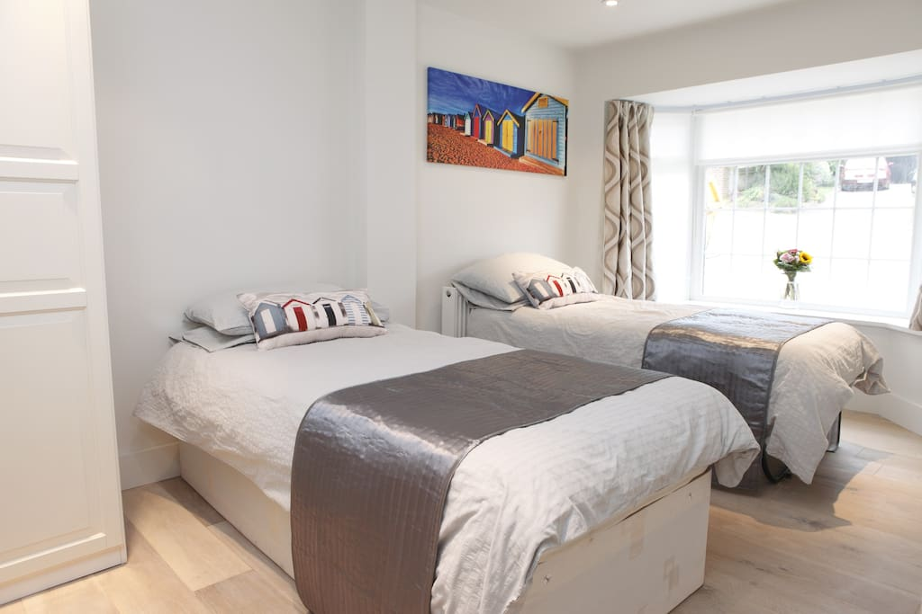 Bright and sunny double room