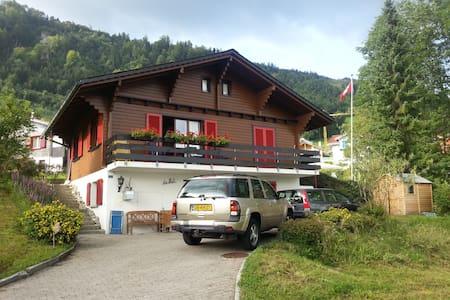 Heerlijk, Zwitsers chalet met prachtig uitzicht. - Emmetten