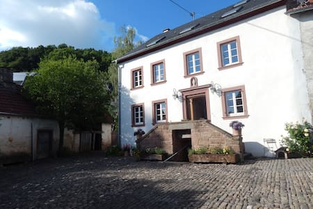 Relaxen in 300 Jahre altem Hofgut 7 - Basberg - Bed & Breakfast