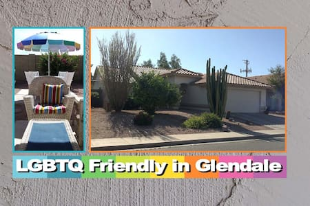 GAY FRIENDLY ROOM/PRIVATE BATH  - Glendale - Σπίτι