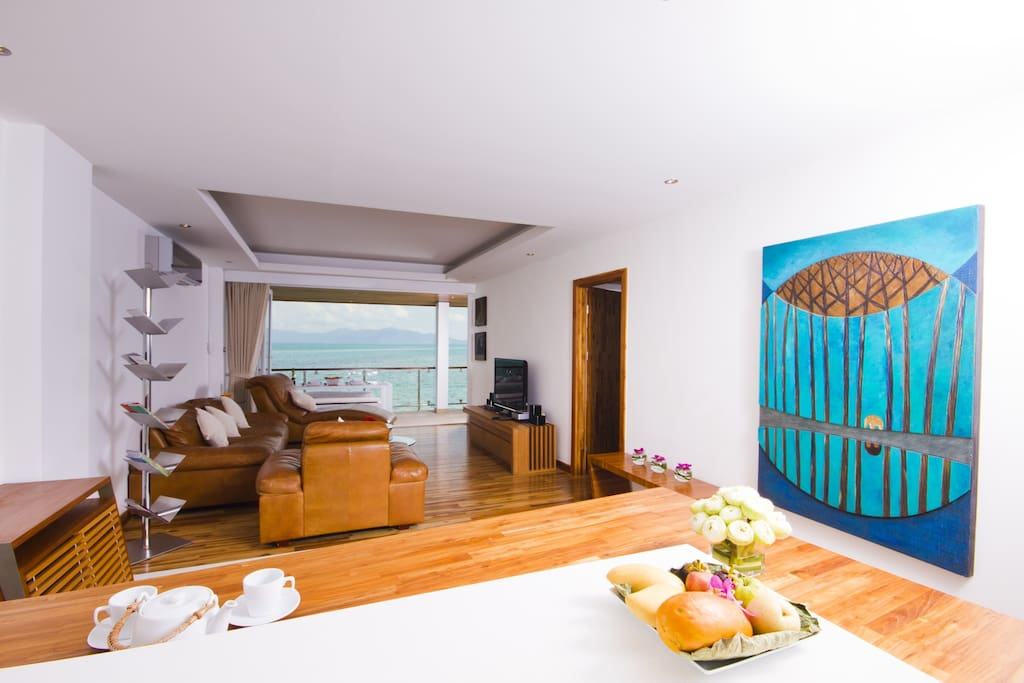 Osho 2 bed Beachfront Apartment