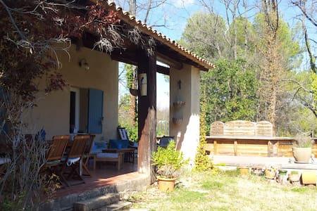 Maison en campagne sud luberon - Grambois