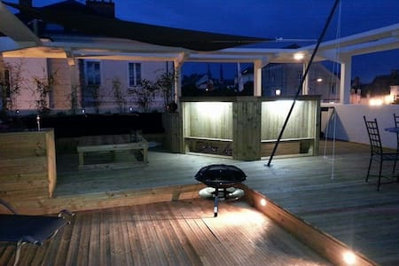 Moderne, spacieux...terrasse unique - Flat