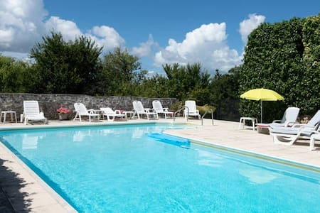 Beautiful Gite by historic farmhouse nr Beaugeay - Beaugeay - Daire