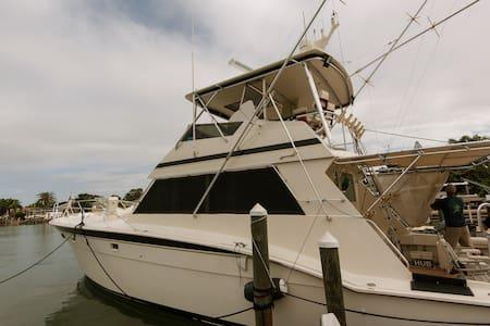 Cozy yacht getaway in Treasure Island - Saint Petersburg - Boot