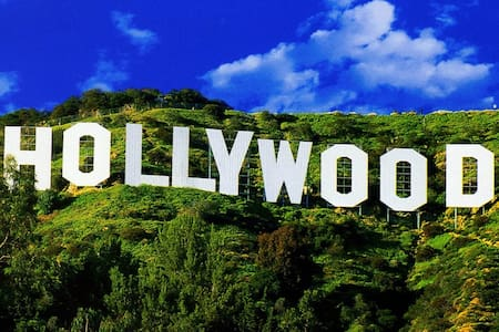 Hollywood Sign Lovely Beachwood Single - Lakás