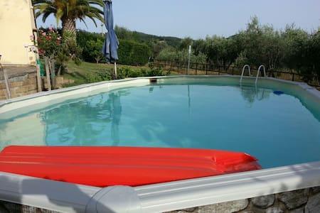 villa con vista lago a bolsena - Bolsena - Villa