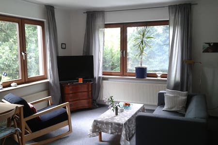 calm appartment +terrace neare elbe - Casa