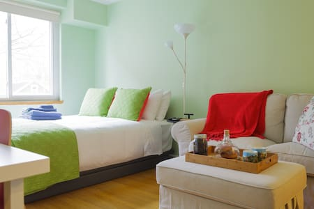 Super Private BR with En-suite Bath, ++Amenities++ - Cambridge - Apartment