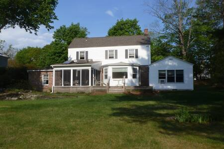 4 BR, 3½ bath immaculate property in Lenox becoming available for rent.  A ten minute walk from downtown Lenox Center, and 5 minute drive from Tanglewood.  Four night minimum rental.