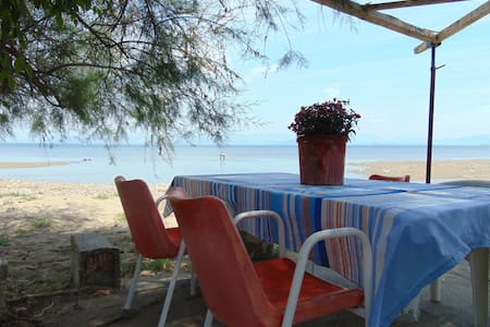 Beach front quiet, secluded family apartment 2-4p - Apartamento
