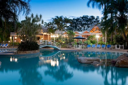 2 bdr condo Boambee Bay Resort