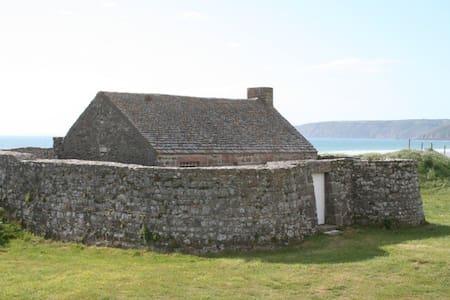 Le Fort de Vauville - Vauville - Hus