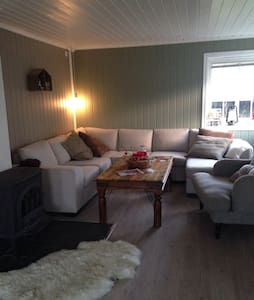 Cozy house w/parking near Trondheim - Melhus
