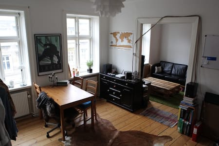 Two combined rooms in central Frederiksberg - Frederiksberg - Apartment