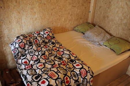 Art loft indoor wooden cabin in BXL