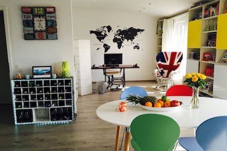 Bright flat in central Ratingen - Apartamento