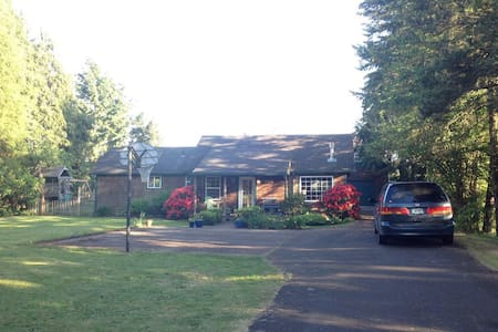 Country Charm in Town - Corvallis - Maison