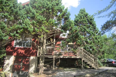 Large Lakefront Home, Private Beach - Long Pond - House