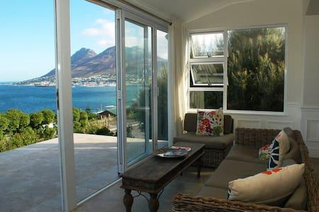 Spectacular views across False Bay. - Cape Town