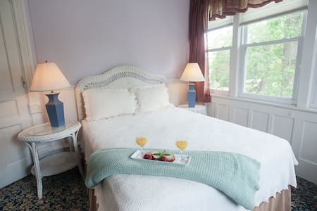 The Sweet Violet Room in my boutique hotel - Taylorville - Hotel boutique